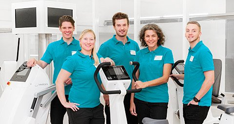 Fitnessstudio Krefeld Team prosano training